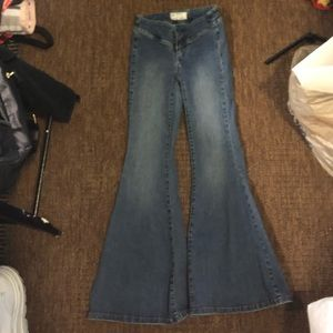 NEW FREE PEOPLE FLARE JEANS